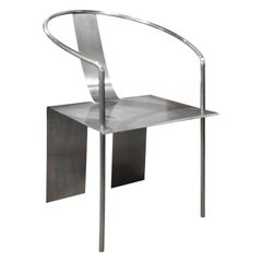 Shao Fan Sculptural Stainless Steel Chair, 2000 'Signed, Dated and Numbered'