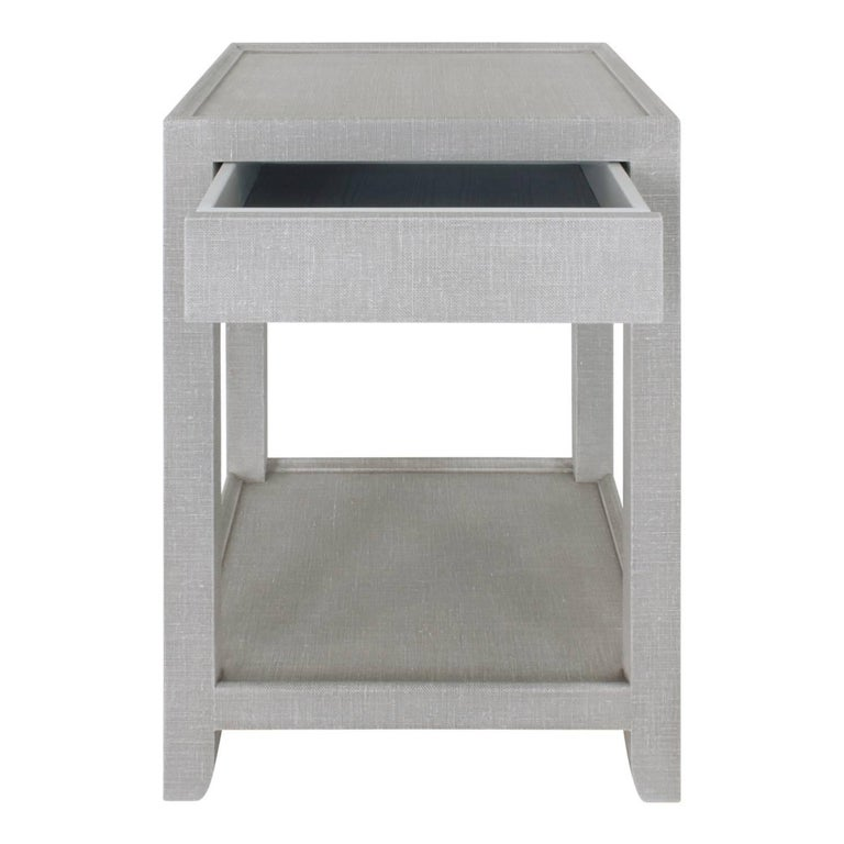 Modern Mary Forssberg Pair of Telephone Style Nightstands with Drawer For Sale