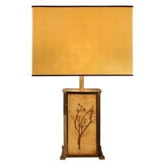 Roger Capron Garrigue Tile Table Lamp, 1960s