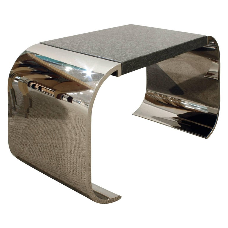 Brueton sleek coffee end table 1970s for sale at 1stdibs Sleek coffee table