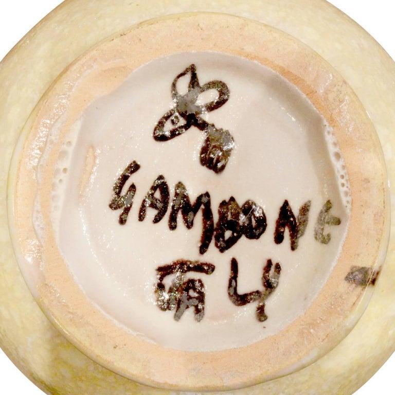 Guido Gambone 33 Piece Ceramic Coffee and Espresso Set, 1950s For Sale 2