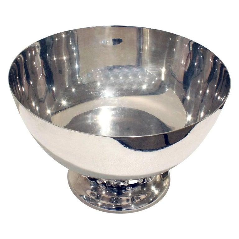 Woodside Silver Co. Sterling Art Deco Bowl, 1920s 3
