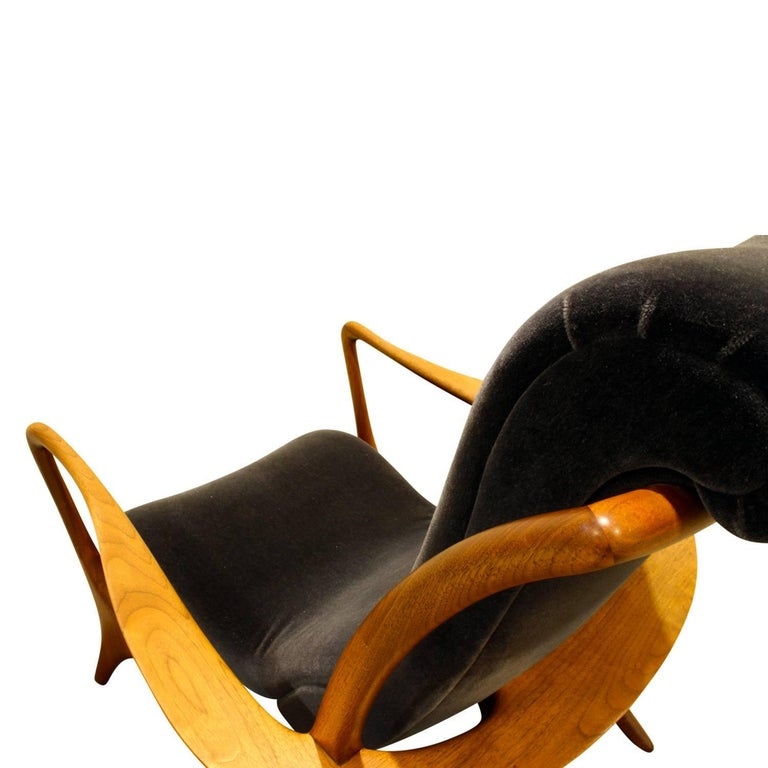 Mid-20th Century Vladimir Kagan Sculpted Contour Chair, 1950s For Sale