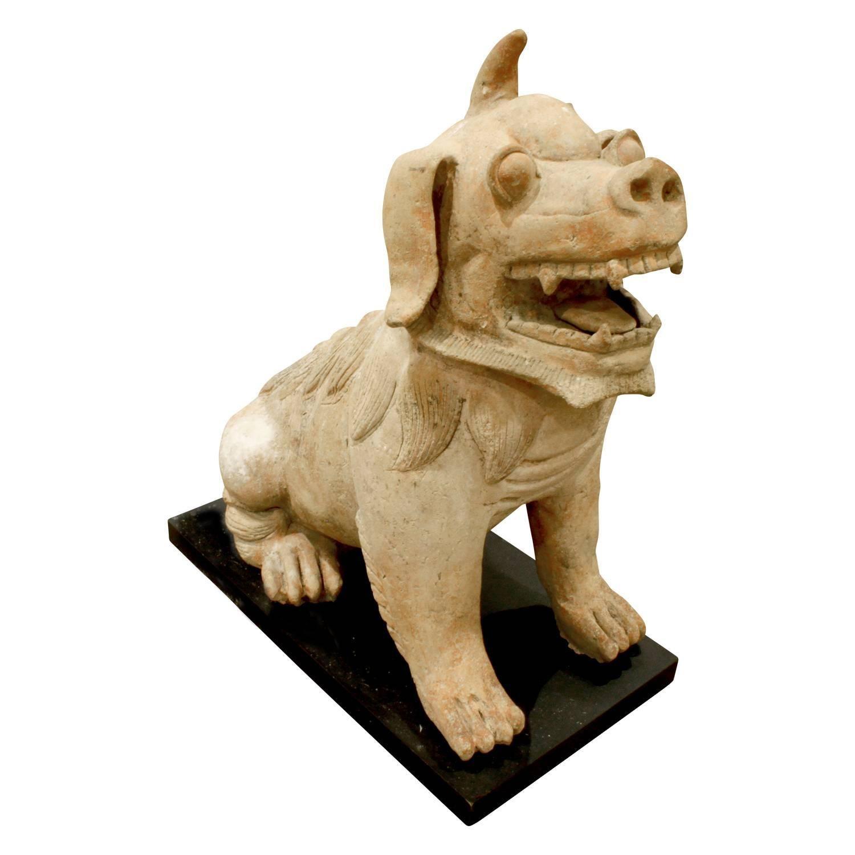Large Chinese Ceramic Foo Dog, 1970s