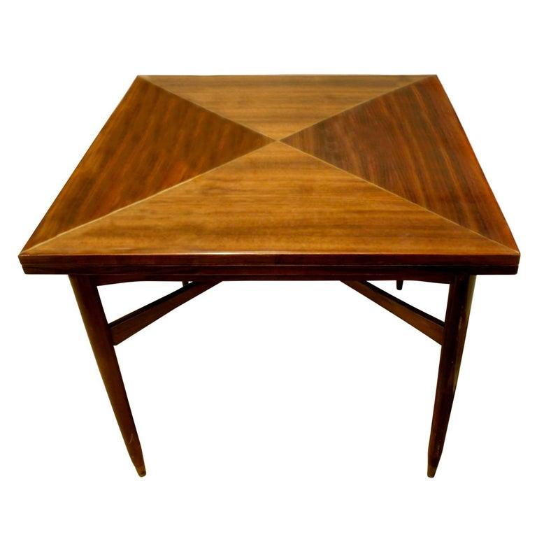 Tommi Parzinger Rare Flip-Top Game Table 1950s