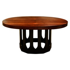 Harvey Probber Extension Dining Table in Rosewood, 1950s