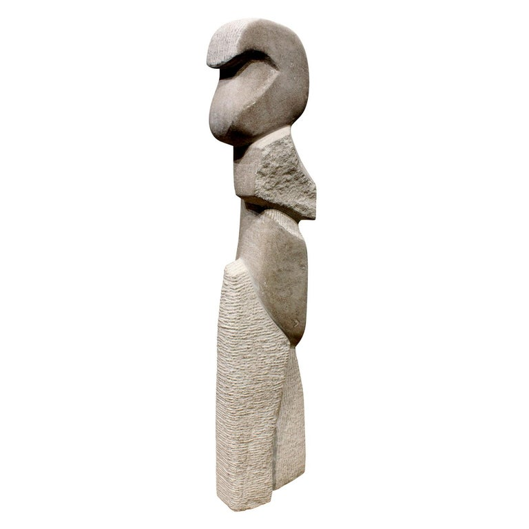 "Naomi Feinberg ""Wild Spirit"" Sculpture in Italian Marble, 1970s For Sale"