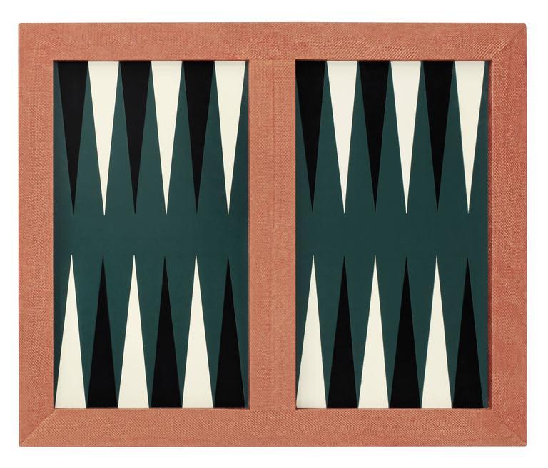 backgammon game board covered in snake skin by karl springer 3 - Backgammon Game