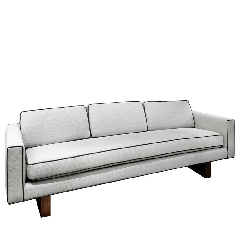 Clean Line Sofa No. 1573 By Harvey Probber At 1stdibs