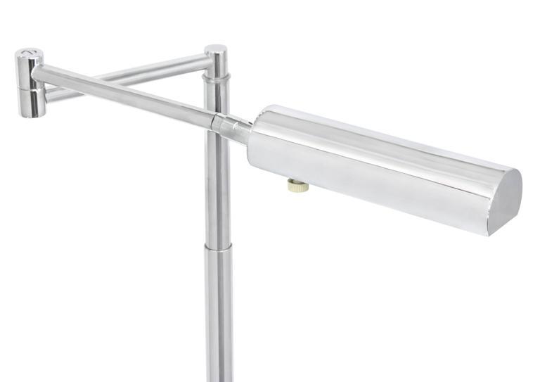 American Swing Arm Reading Lamp by Koch & Lowy For Sale