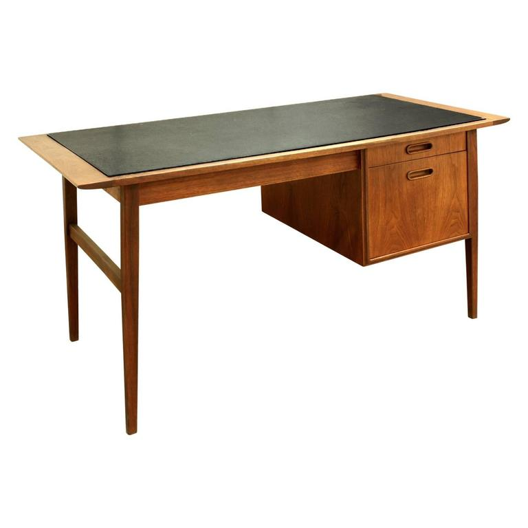 Scandinavian Modern Danish Desk with Micarta Top, 1960s For Sale