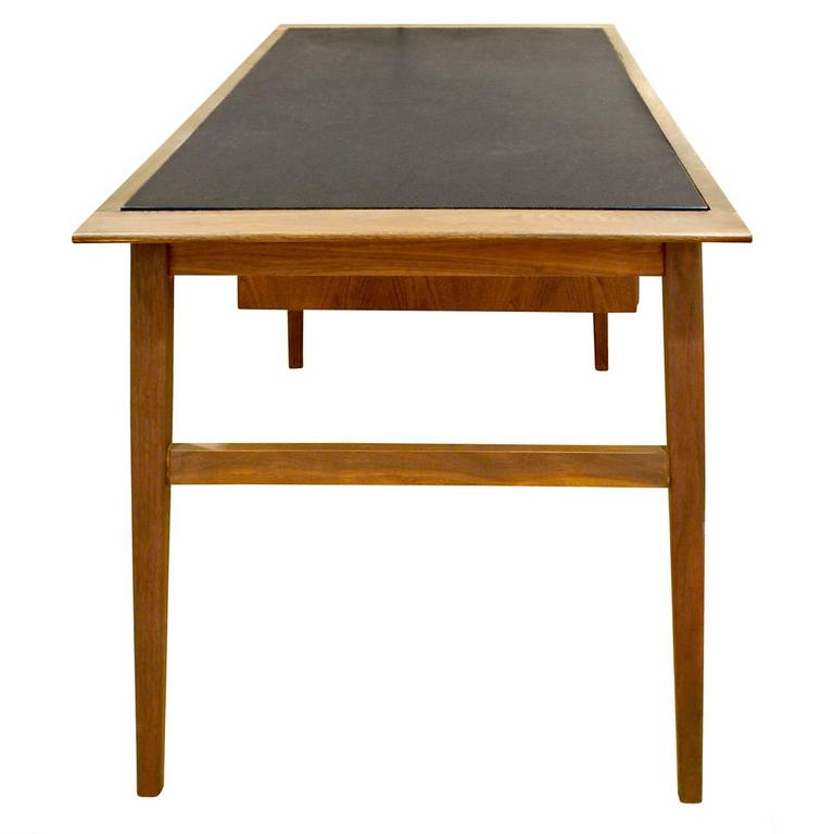 Hand-Crafted Danish Desk with Micarta Top, 1960s For Sale