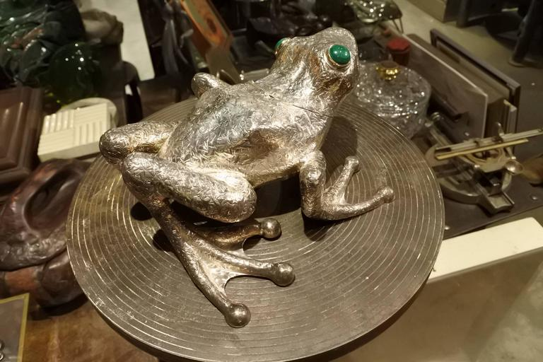Sterling Silver, Cartier Frog Box 4