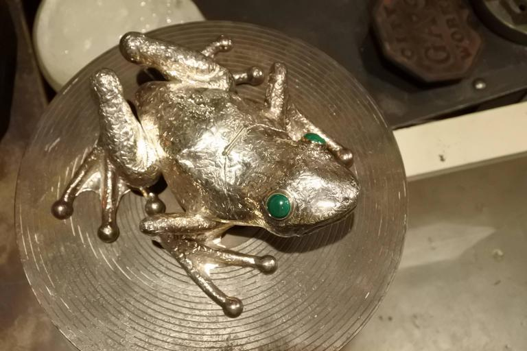 Sterling Silver, Cartier Frog Box 5