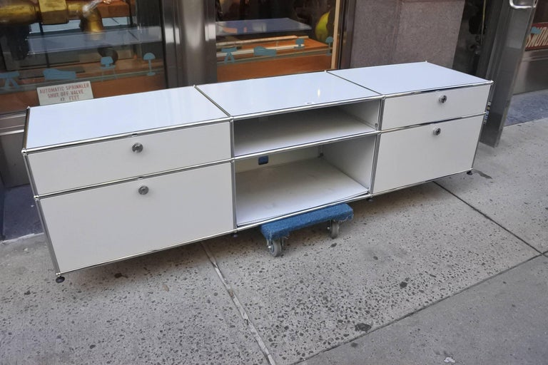 USM Haller Custom Order Console and Storage Unit 2