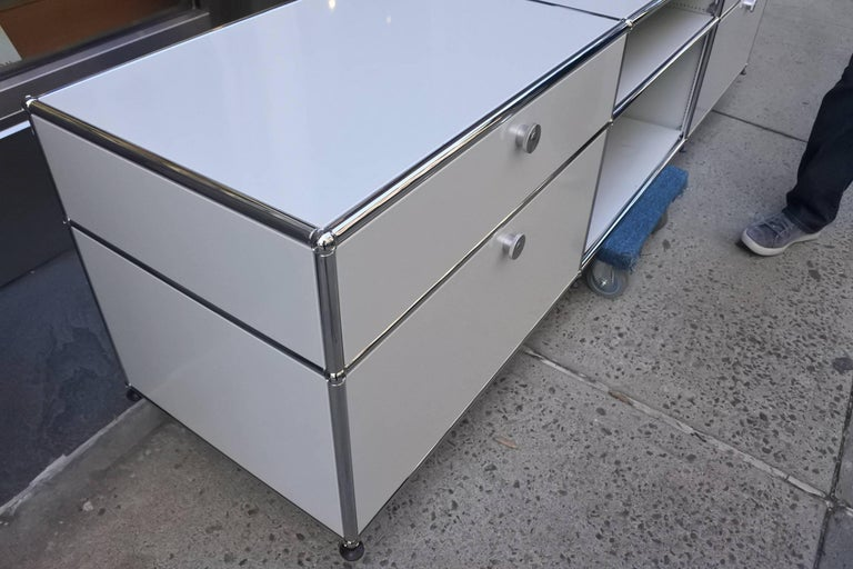 USM Haller Custom Order Console and Storage Unit 4