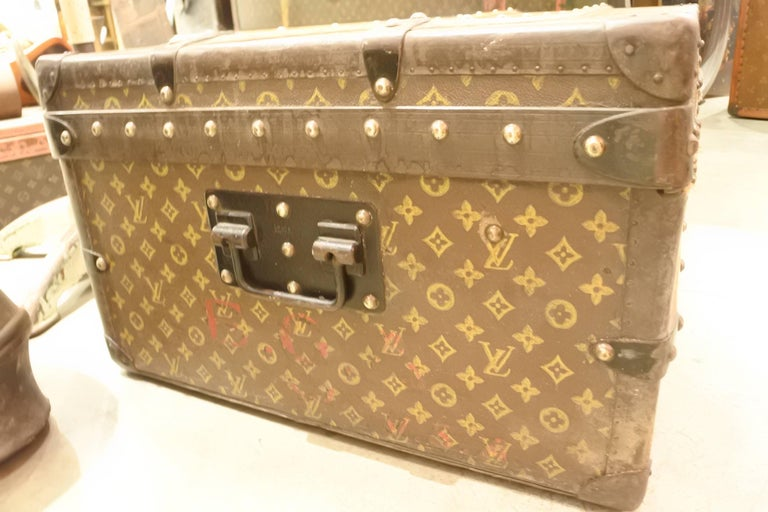 Vintage Louis Vuitton Steamer Trunk 4