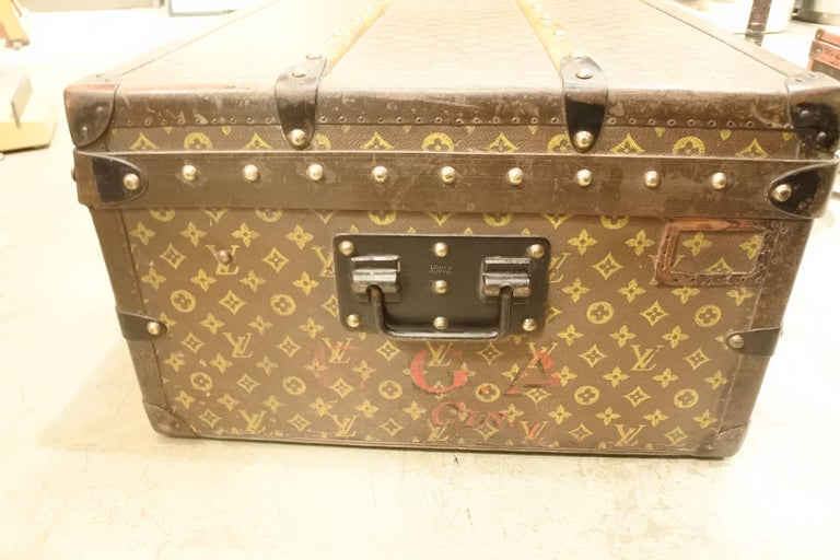 Vintage Louis Vuitton Steamer Trunk 5