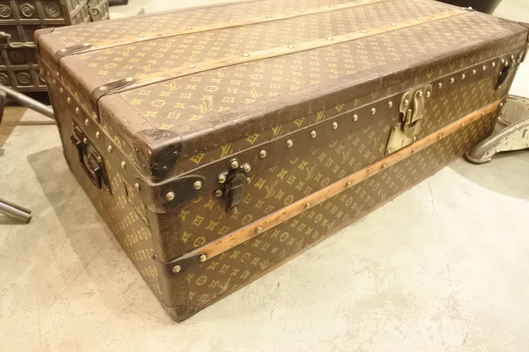 Vintage Louis Vuitton Steamer Trunk 7