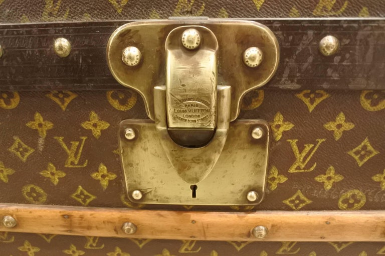 Vintage Louis Vuitton Steamer Trunk 8