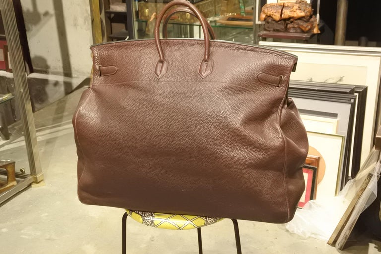 French Hermès HAC Travel Bag For Sale