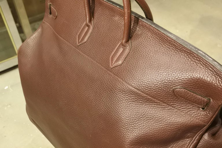 Hermès HAC Travel Bag In Good Condition For Sale In New York, NY