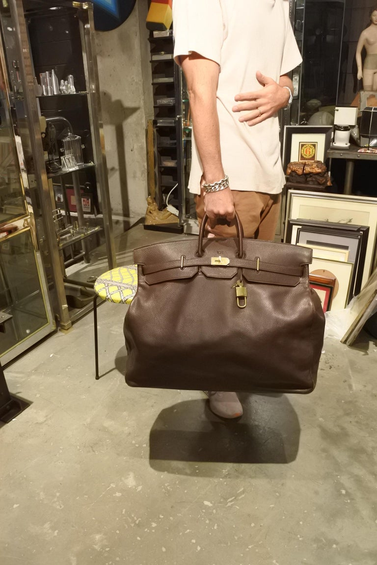 Hermès HAC Travel Bag For Sale 4