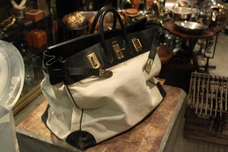 38aa1aad915a Amazing Hermes 55 cm HAC bag. This bag has perfect wear. It is structurally