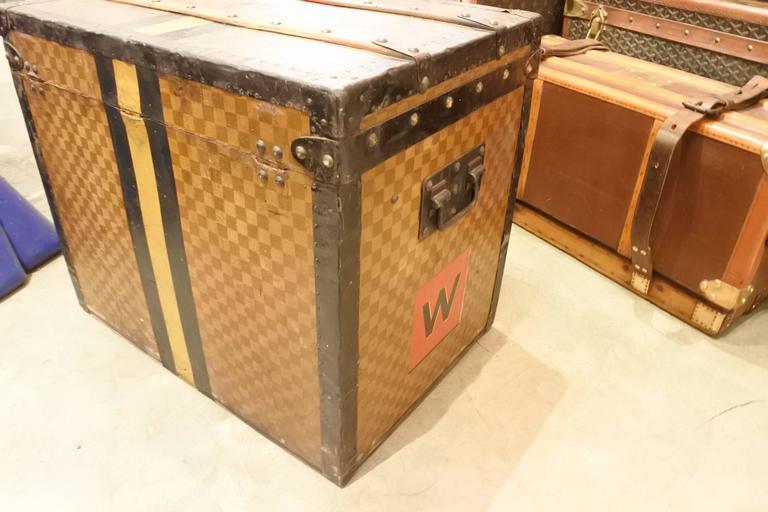 Louis Vuitton Damier Cube Trunk For Sale 1