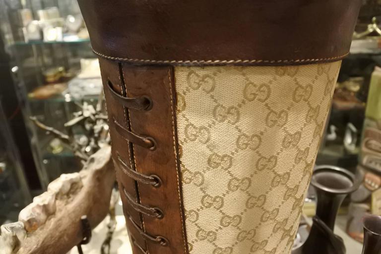 Rare and Incredible Gucci Store Umbrella Stand For Sale 2