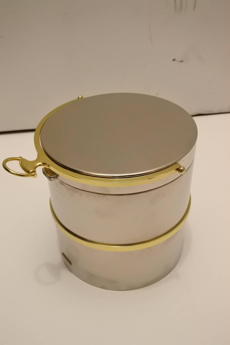 Fabulous Vintage Gucci Ice Bucket 5