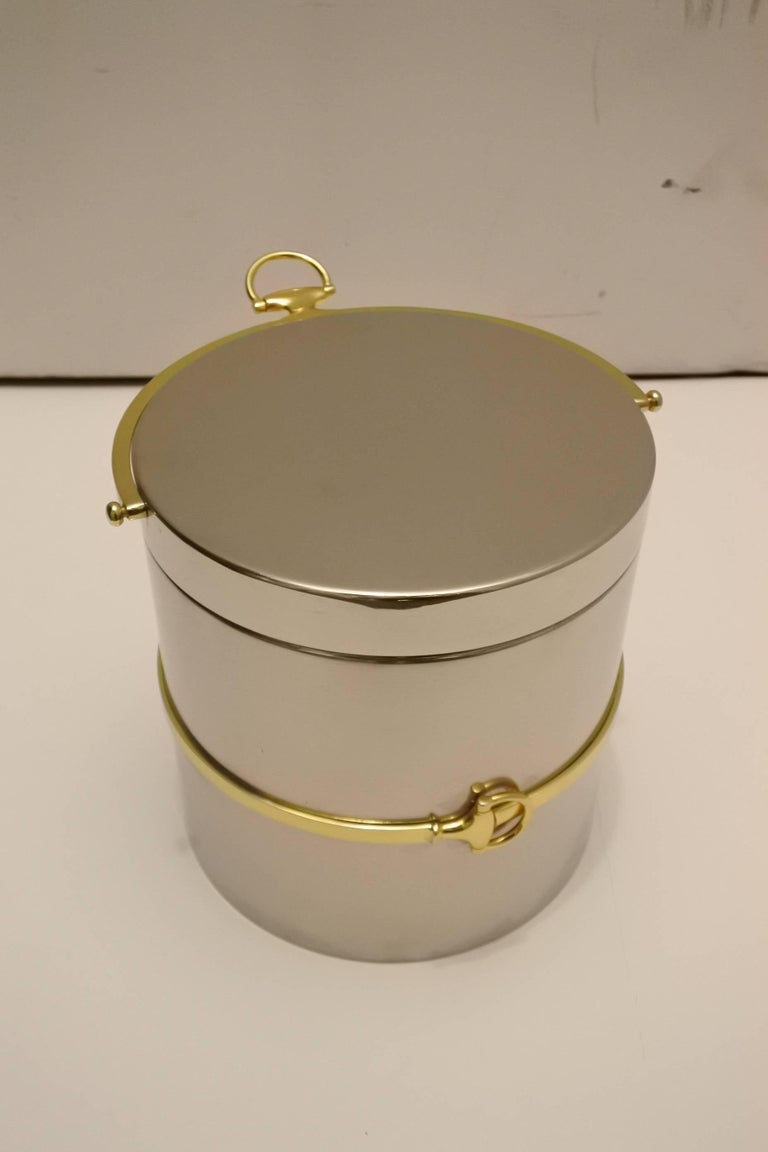 Fabulous Vintage Gucci Ice Bucket 3