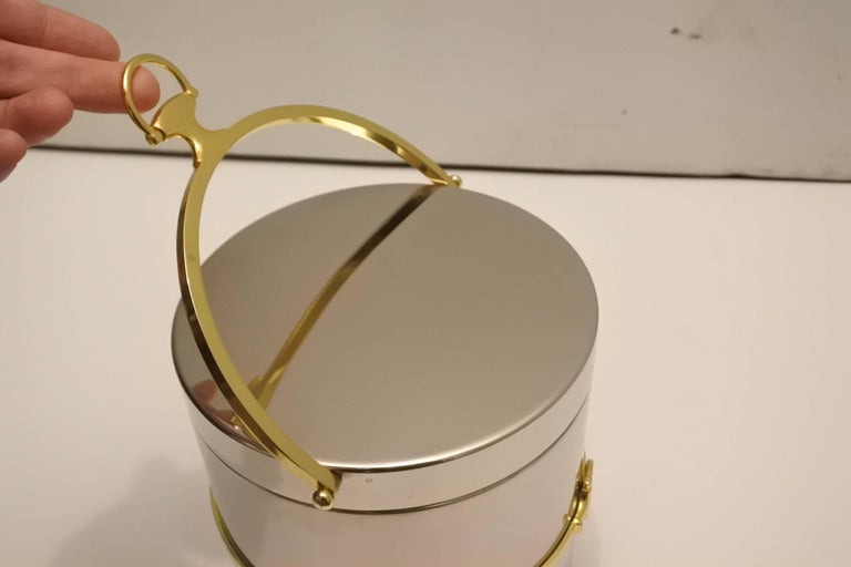 Fabulous Vintage Gucci Ice Bucket 8