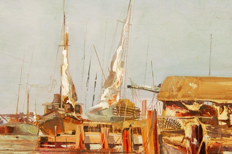 Harbor Scene By Mogul 2