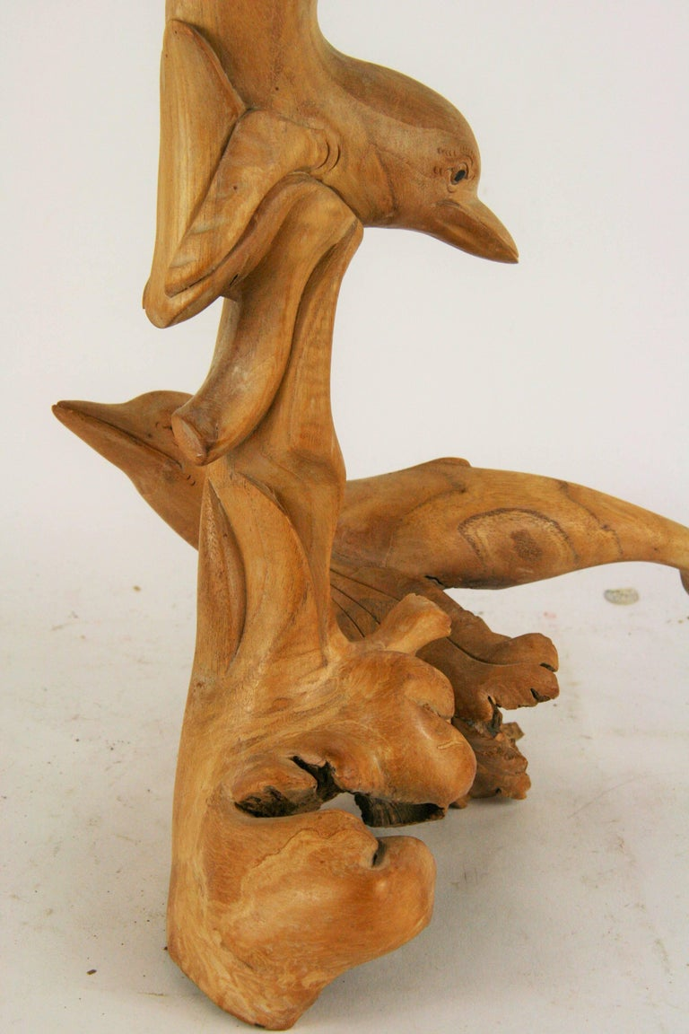 Mid-20th Century Dolphin Sculpture For Sale