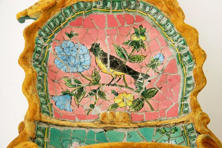 Mosaic Wall Fountan For Sale 1