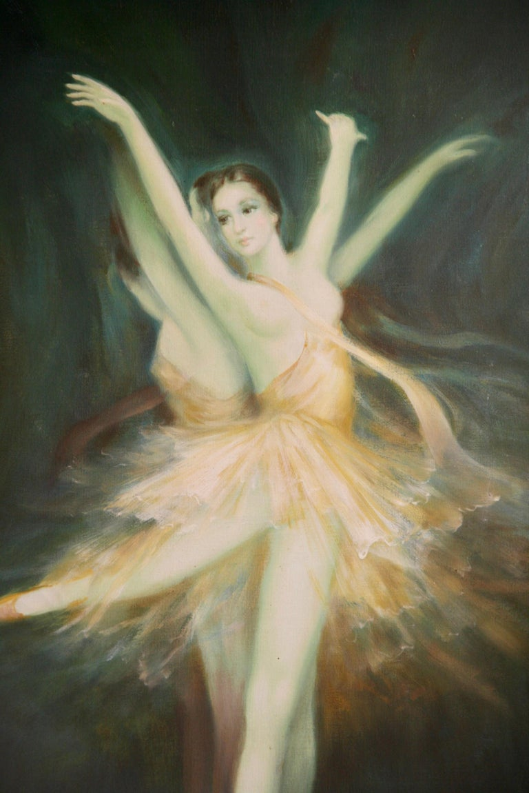 Ballerina Original Oil Painting For Sale 1