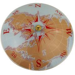 Compass Nautical Flush Mount #2