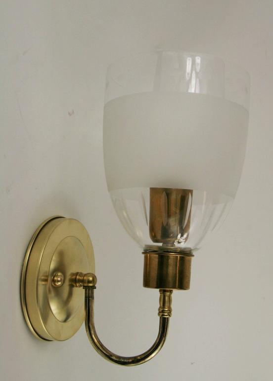Hurricane Wall Sconces Lamps : Pair of Modern Hurricane Sconce For Sale at 1stdibs