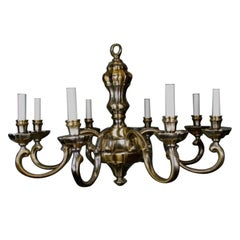 LIGHTING SALE UP TO 50% OFF SELECTED ITEMS   Brass and Nickel Chandelier