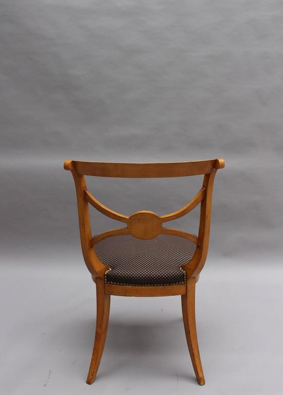 A Set of 14 Fine French Art Deco Chairs by Ernest Boiceau (12 side and 2 arm) For Sale 2