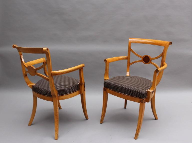 Mid-20th Century A Set of 14 Fine French Art Deco Chairs by Ernest Boiceau (12 side and 2 arm) For Sale