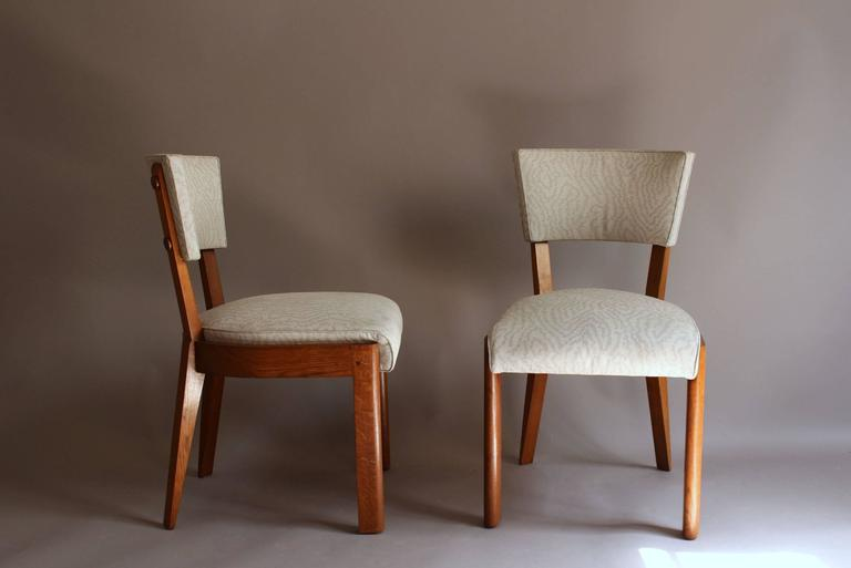 In solid oak, 6 more similar chairs are available if you'd like a set of 10 chairs (ref# LU78488863543)