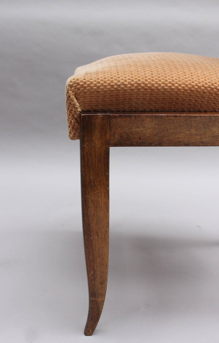 Set of Eight Fine French Art Deco Dining Chairs 9
