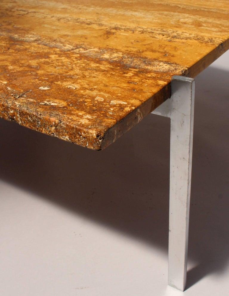poul kj rholm pk 61 danish coffee table by e kold. Black Bedroom Furniture Sets. Home Design Ideas