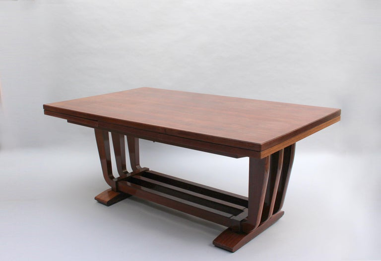 Fine French Art Deco Rosewood Vitrine by Maxime Old For Sale 12