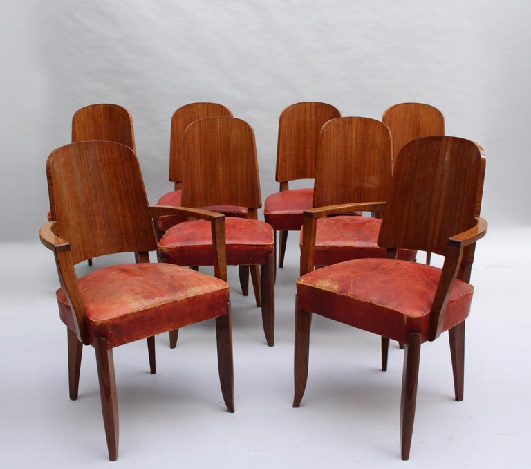 Fine French Art Deco Rosewood Vitrine by Maxime Old For Sale 13