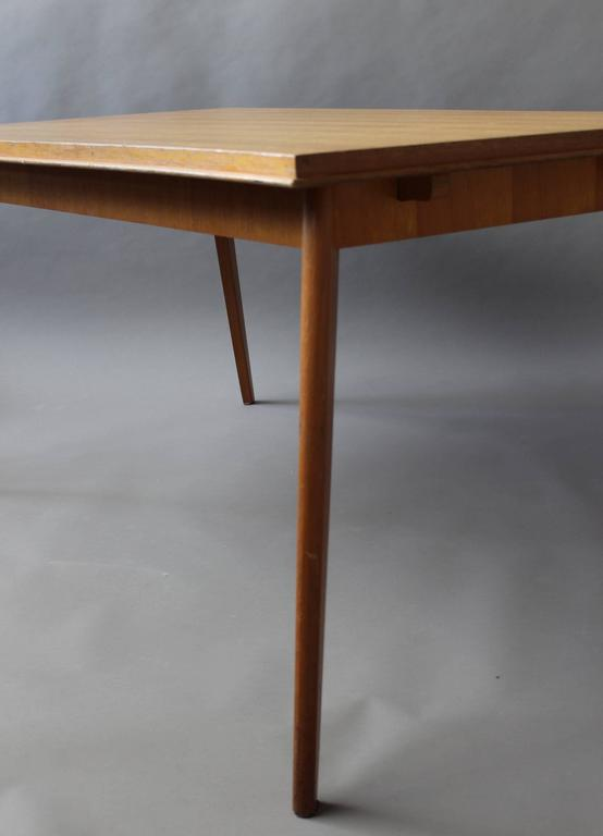 A Fine 1950s Compass Oak Table For Sale 3