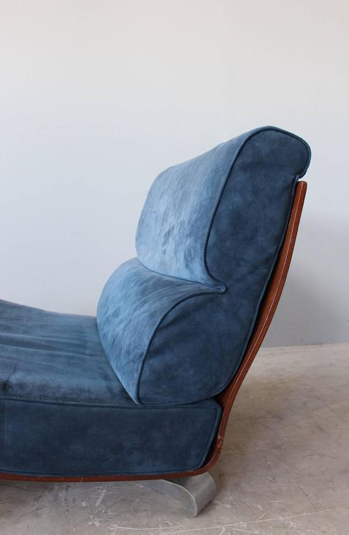 4 French 1970s Swivel Lounge Chairs For Sale 5