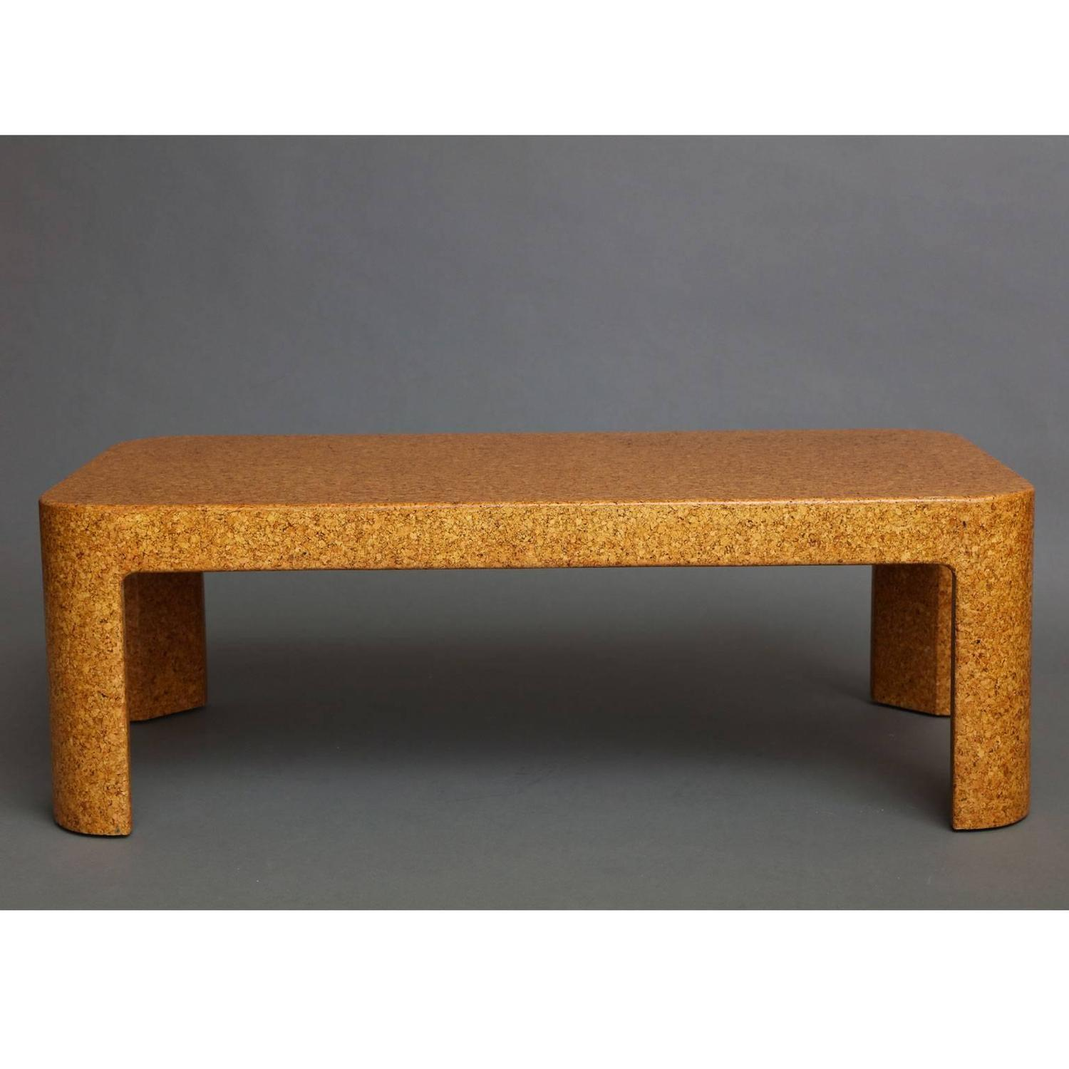 Samuel Marx Cork Coffee Table For Sale At 1stdibs